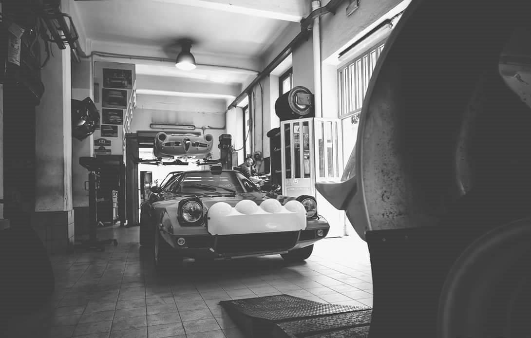 preparazione auto rally Liguria