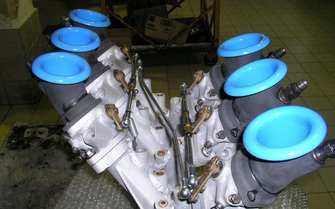 Motore Stratos al banco prova